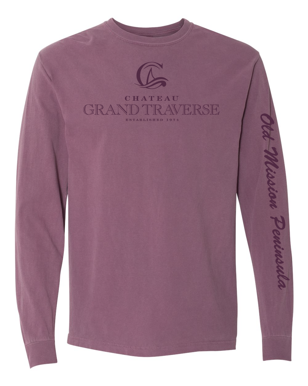 CGT Classic Long Sleeve Tee- Berry