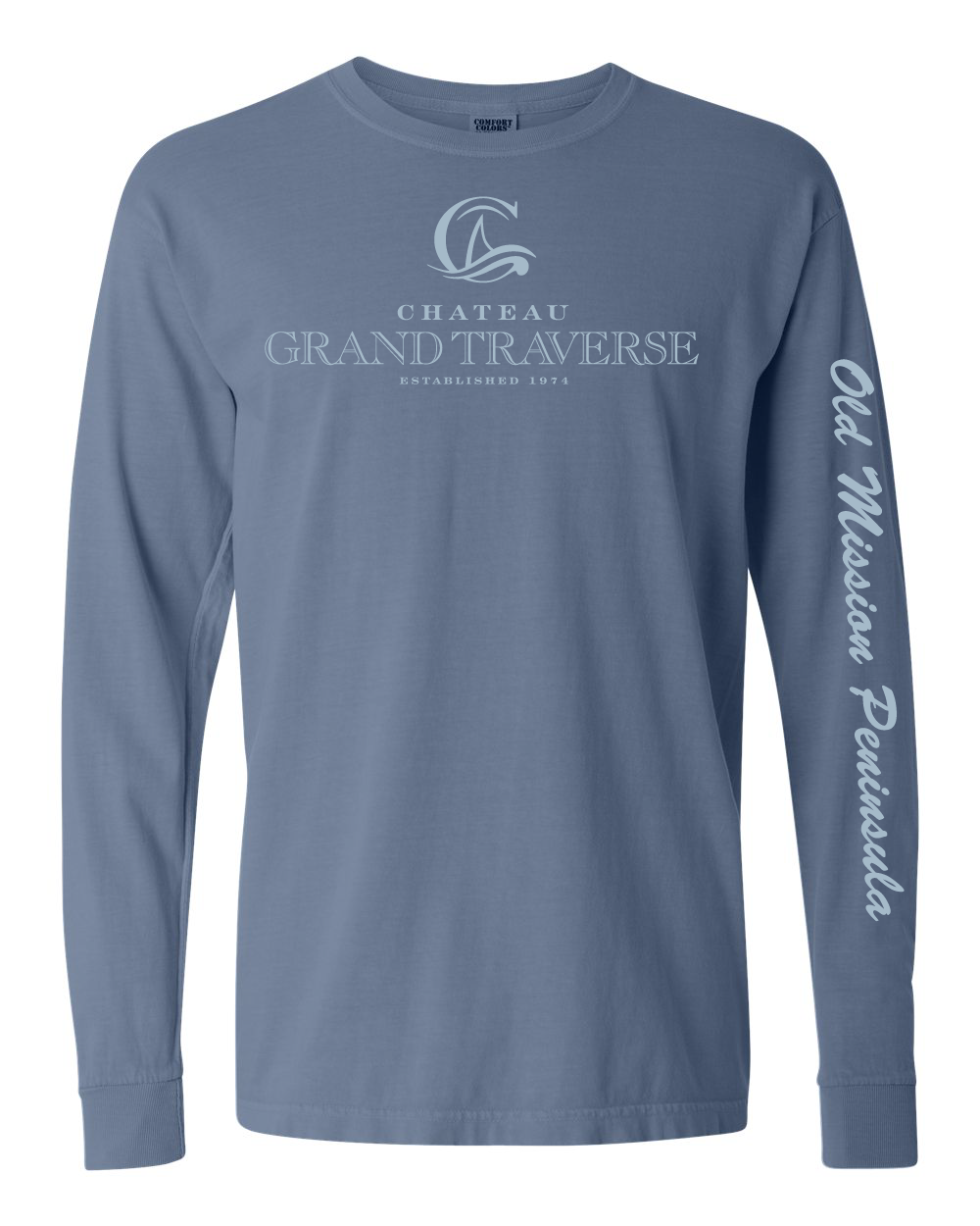 CGT Classic Long Sleeve Tee- Blue