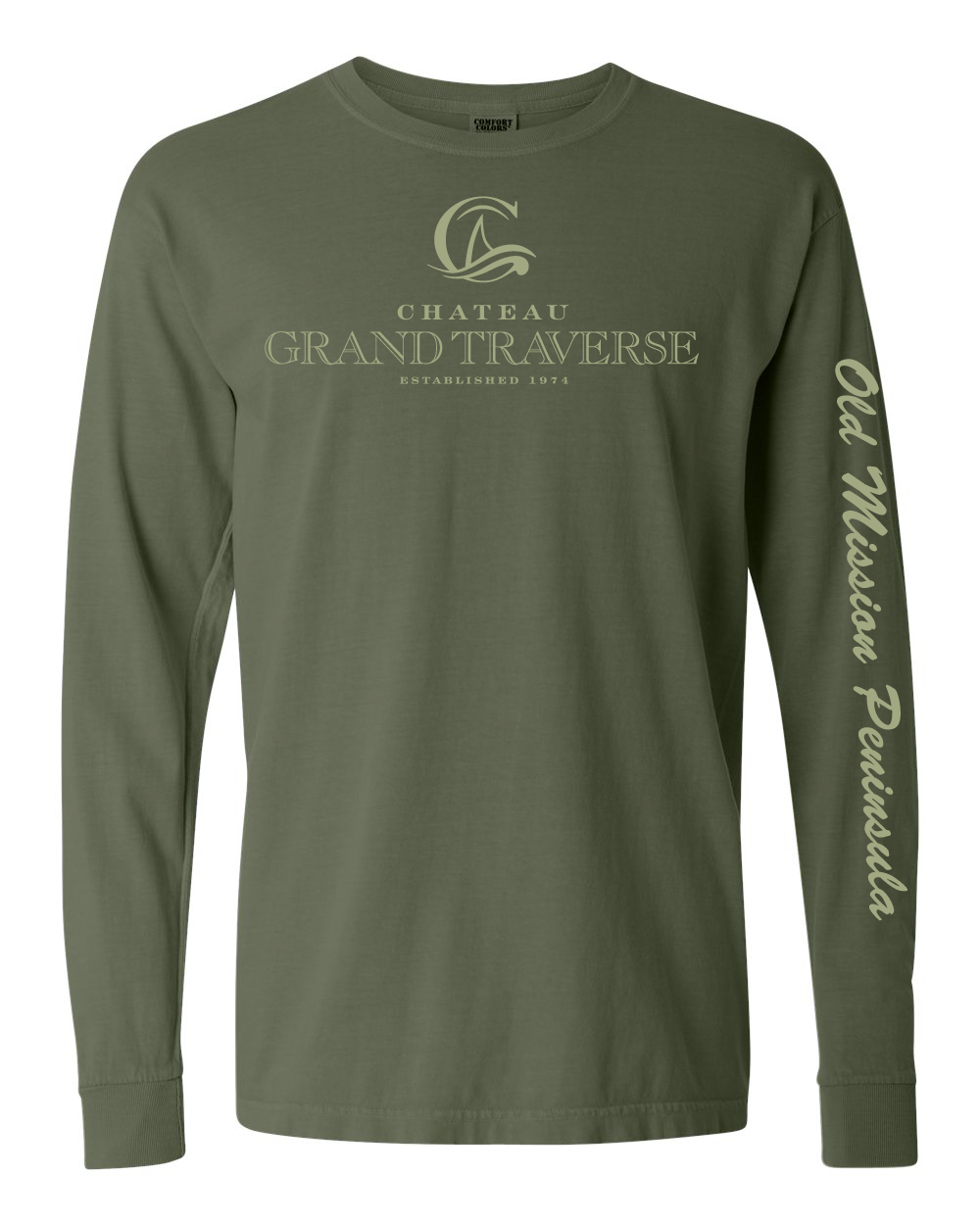 CGT Classic Long Sleeve Tee- Olive