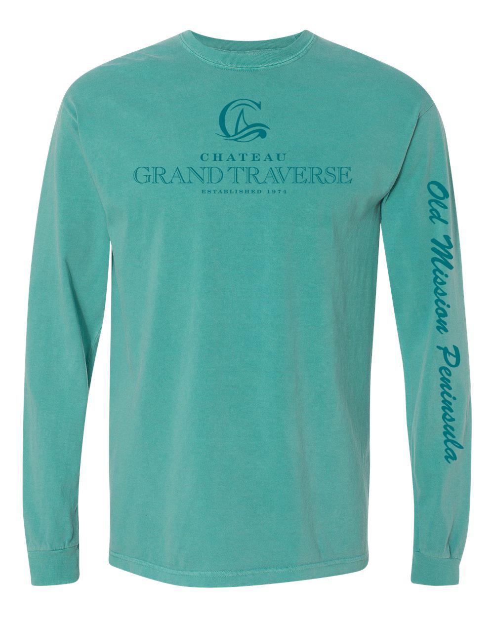 CGT Classic Long Sleeve Tee- Seafoam